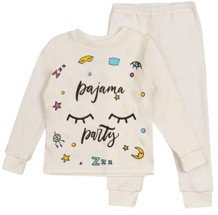 Garnamama sötétben világító gyermek pizsama 122 fehér