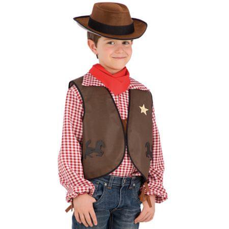 Carnival Toys kauboj jakna + šešir set, VR.6664