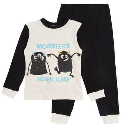8f715d2dc Garnamama chlapčenské svietiace pyžamo Monsters 110 čierna/biela ...