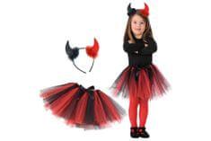 Carnival Toys vražica, suknja + obruč, VR.6791