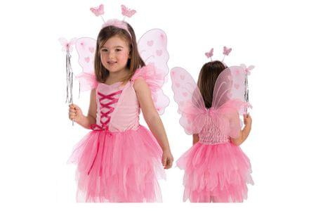 Carnival Toys metulj, krila + tipalke + palica, VR.6796