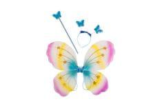 Carnival Toys metulj, krila + obroč + palica, VR. 06320