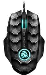 Sharkoon optična gaming miška Drakonia II, USB, črna - odprta embalaža