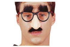Carnival Toys naočale, nos, brkovi + obrve VR.5203