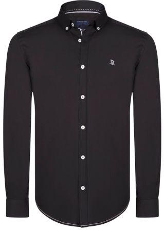 Giorgio Di Mare pánska košeľa GI1686121 XXL čierna