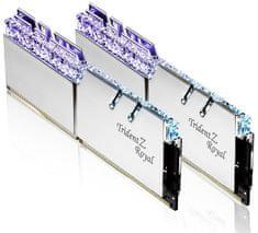 G.Skill pomnilnik (RAM) Trident Z Royal DDR4 16 GB (2x8GB), 3000 MHz, CL16, RGB, srebrn (F4-3000C16D-16GTRS)
