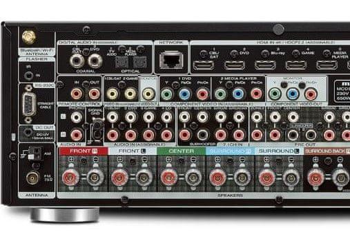 AV receiver Marantz SR50131 Audyssey phono vstup kalibrace zvuku tonální vyvážení gramofon airplay spotiy