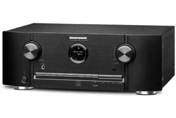 AV receiver Marantz SR5013 amazon alexa multiroom 3d zvuk výkon 180 W 7 kanálů heos aplikace velké místosti dolby atmos dts.x