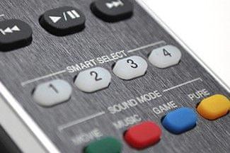 7.2kanálový av receiver marantz sr5013 smart select výběr funkcí tlačítka na zařízení i na ovladači