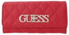 Guess czerwony portfel damski