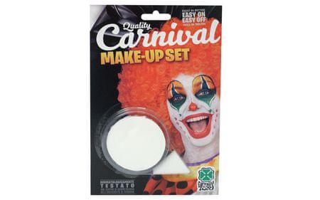 Carnival Toys barva za obraz, bela, 10g BL.09418