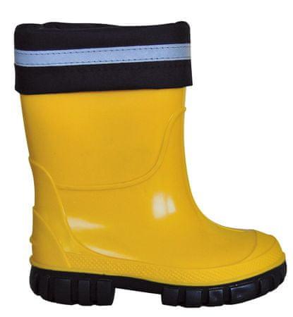 e82303a364 Protetika detské zateplené čižmy 22 žltá