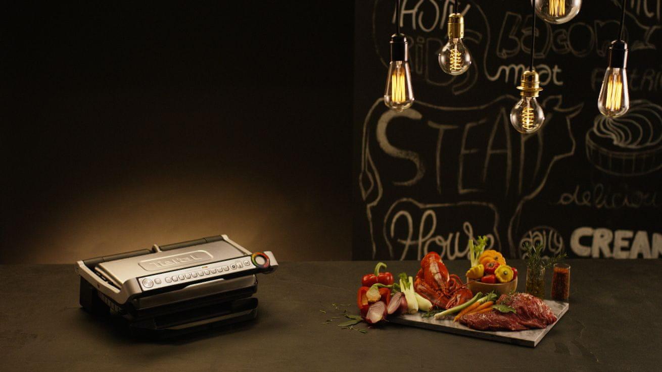 TEFAL GC722D grill z przodu