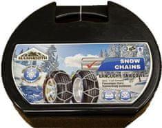 MAMMOOTH Sněhové řetězy E9/50, křížový vzor, 1 pár, pro osobní vozidla