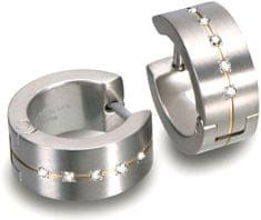 Boccia Titanium tytanowe kolczyki z diamentami 0503-11