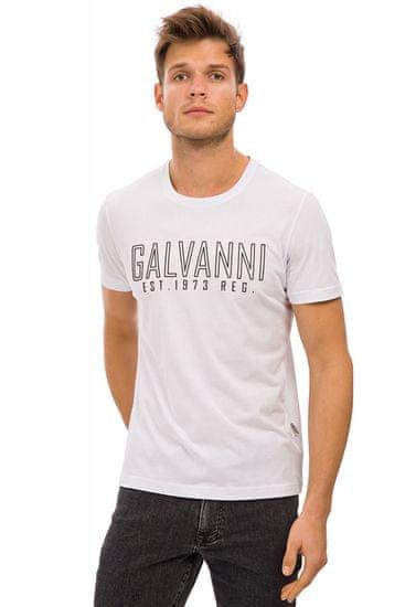 Galvanni pánské tričko Nobuka XL bílá