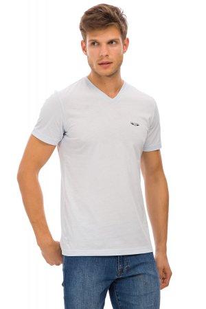 Galvanni pánské tričko Favo XXL světle modrá