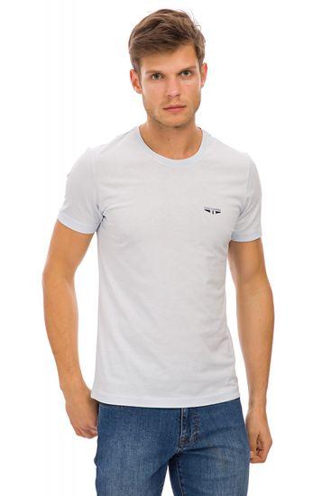 Galvanni pánské tričko Sliven L světle modrá