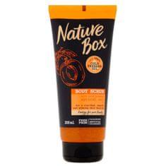 Nature Box Prírodné telový peeling Apricot Oil ( Body Scrub) 200 ml