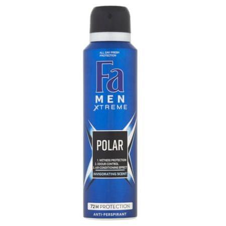 Fa Izzadásgátló spray Men Xtreme Polar (Anti-Perspirant) 150 ml