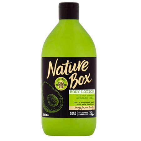Nature Box Přírodní tělové mléko Avocado Oil (Body Lotion) 385 ml