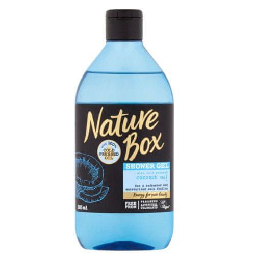 Nature Box Přírodní sprchový gel Coconut Oil (Shower Gel) 385 ml