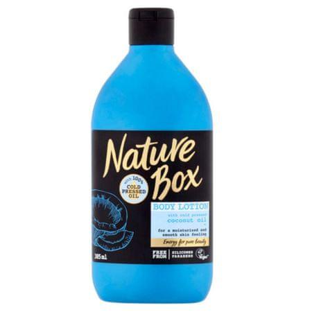 Nature Box Přírodní tělové mléko Coconut Oil (Body Lotion) 385 ml