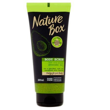 Nature Box Naturalny peeling do ciała Avocado Oil ( Body Scrub) 200 ml