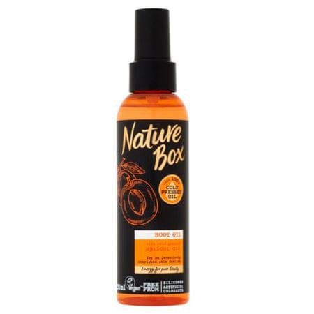 Nature Box Přírodní tělový olej Apricot Oil (Body Oil) 150 ml