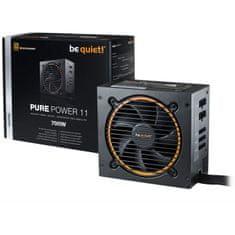 Be quiet! napajalnik ATX 700W 12V PURE POWER 11 CM BN299