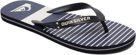 Quiksilver moške japonke Molokai Tijuan M Sndl Xkbs Black/Blue/Grey, 44, črne/modre/sive
