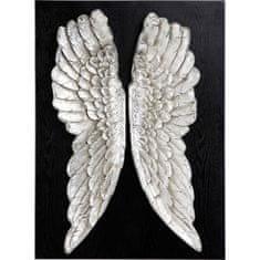 KARE Nástěnná dekorace Wings 110x80cm