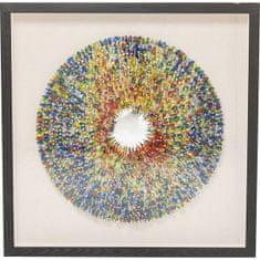 KARE Dekoratívne rámček Colour Explosion 120×120cm