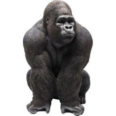 KARE Socha Gorila na skateboardu 107cm