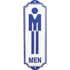 KARE Nástěnný dekorativní nápis Toilet Men
