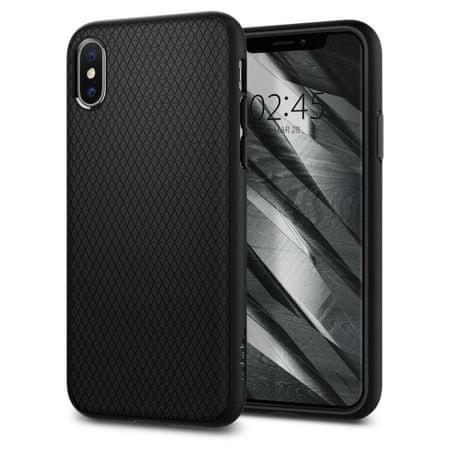 Spigen ovitek Liquid Air za iPhone XS, črn