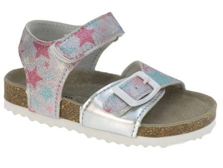 Beppi sandale za djevojčice Casual Sandal, 24, srebrne