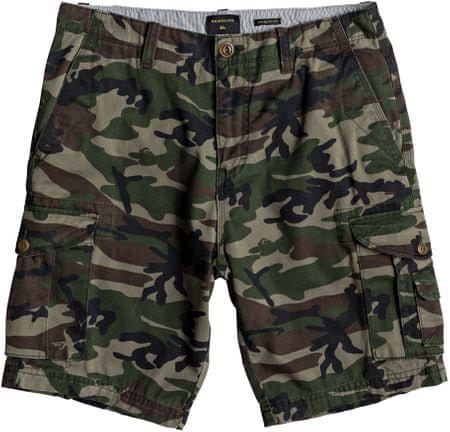 Quiksilver moške kratke hlače Crucialbattlesh M Wkst Gpb6 Camo Print Crucial Battle, 30
