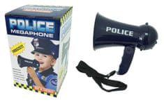 Unikatoy megafon policija, 16 cm, bat. šk. 25214