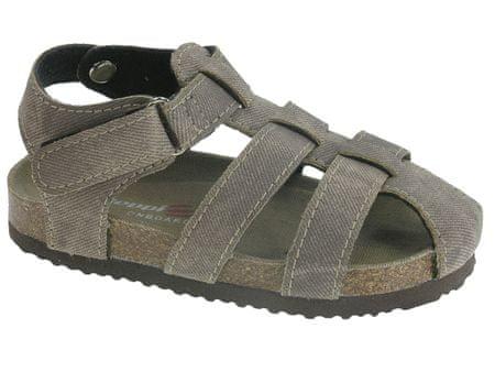 Beppi sandale za dječake Casual Sandal, smeđe, 23
