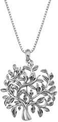 Hot Diamonds Luxusní stříbrný náhrdelník se stromem života Jasmine DP700 (řetízek, přívěsek) stříbro 925/1000