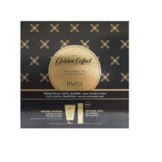 Matis Paris Zestaw do pielęgnacji twarzy dla skóry normalnej i tłustej Gold pl Coffret