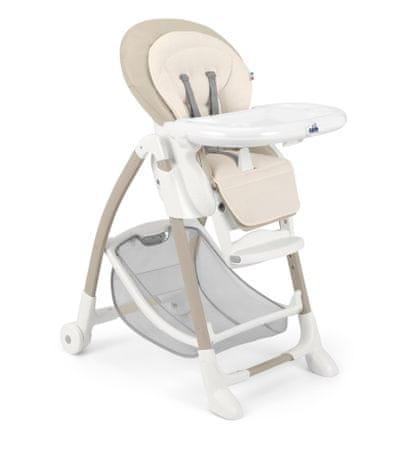 CAM krzesełko do karmienia Gusto brązowy