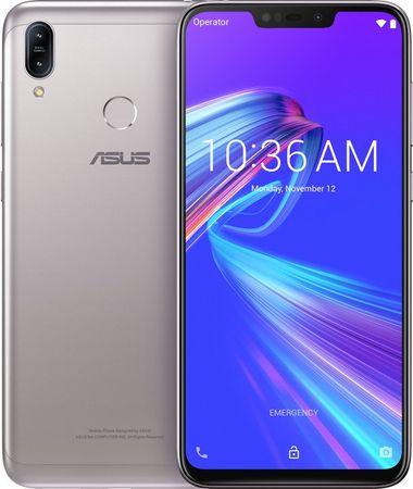 Asus smartfon ZenFone Max (M2) (ZB633KL), Meteor Silver