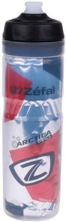 Zéfal kolesarska steklenica Arctica Pro 75, rdeča