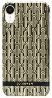 SO SEVEN Fashion Paris Black/Gold Cover iPhone XR SSBKC0098