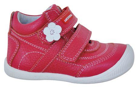 Protetika Agnes lány bokacipő 19 piros