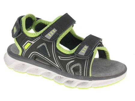 Beppi sandale za dječake Casual Sandal, 25, grey