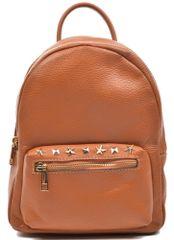 Mangotti plecak damski brązowy