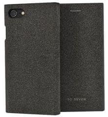 SO SEVEN etui ochronne z klapką na telefon Premium Gentleman Book Case Fabric Anthracite przeznaczone dla iPhone 6/6S/7/8 SSFLS0005